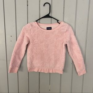 The Children's Place Fluffy Pink Sweater
